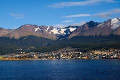 Ushuaia and the Beagle Channel, Tierra del Fuego, Argentina Stock Images
