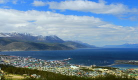 Ushuaia and the Beagle Channel Royalty Free Stock Image