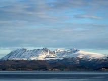 Ushuaia-Berge Lizenzfreies Stockbild