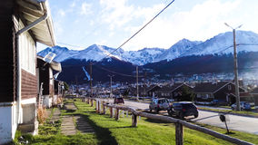 Ushuaia. City. The end of the world Royalty Free Stock Photo
