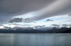 ushuaia d'horizontal de l'Argentine Photos libres de droits