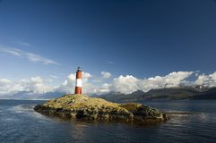Ushuaia de phare Photographie stock libre de droits