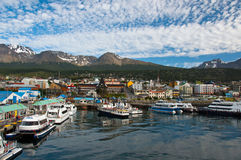 Ushuaia, de Provincie van Tierra del Fuego, Argentinië Stock Afbeelding