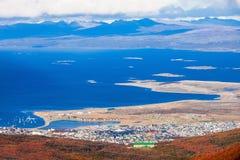 Ushuaia del glaciar marcial imágenes de archivo libres de regalías