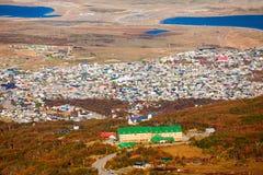 Ushuaia del glaciar marcial imagenes de archivo