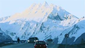 Ushuaia den sydligast staden i världen, Argentina stock video