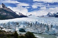 Ushuaia di Glaciar Immagini Stock Libere da Diritti