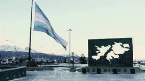 Ushuaia, die südlichste Stadt in der Welt, Argentinien stock footage