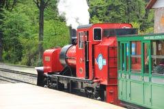 Ushuaia Extremidade do trem do mundo Foto de Stock