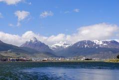Ushuaia hamn Arkivfoton