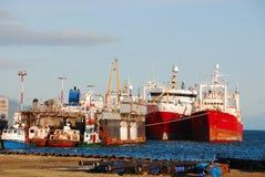 Ushuaia harbor Royalty Free Stock Photography