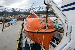Ushuaia, het kapitaal van Tierra del Fuego, Agenitina Royalty-vrije Stock Fotografie