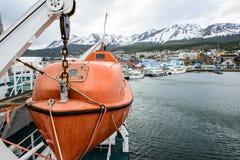 Ushuaia, het kapitaal van Tierra del Fuego, Agenitina Royalty-vrije Stock Afbeelding