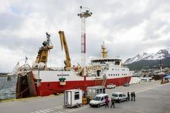 Ushuaia, het kapitaal van Tierra del Fuego, Agenitina Stock Foto