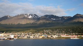 Ushuaia, la Argentina Fotografía de archivo libre de regalías