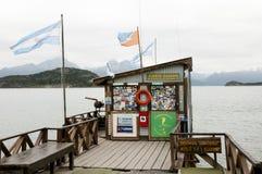 USHUAIA, la ARGENTINA - 7 de febrero de 2015: Fotografía de archivo libre de regalías
