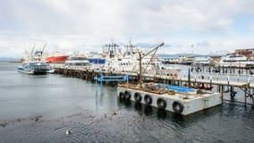 Ushuaia, la capitale di Tierra del Fuego, Agenitina Immagine Stock Libera da Diritti