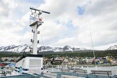 Ushuaia, la capitale di Tierra del Fuego, Agenitina Fotografie Stock
