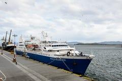 Ushuaia, la capitale di Tierra del Fuego, Agenitina Fotografia Stock