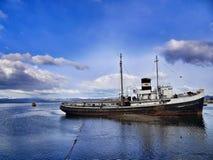 Ushuaia - la città più a sud nel mondo Fotografia Stock