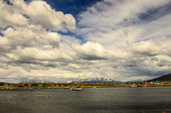 Ushuaia Landscape Royalty Free Stock Photo