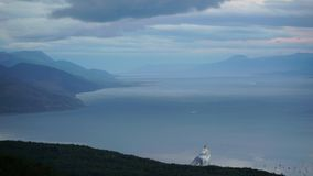 Ushuaia Landscapes and Lakes in Argentina. Durin my visit stock video