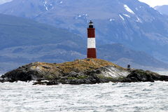 Ushuaia - Les Eclaireurs Lighthouse Royalty Free Stock Image