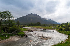 Ushuaia molo, Argentyna Fotografia Stock