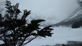 Ushuaia Mountain Royalty Free Stock Photography