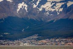 Ushuaia Pano Стоковые Фотографии RF