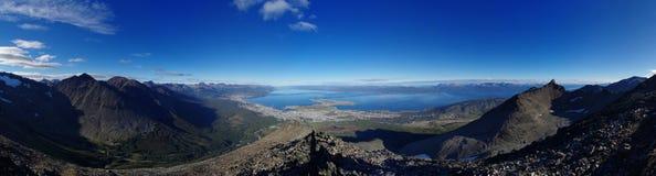 Ushuaia Panorama royalty free stock image