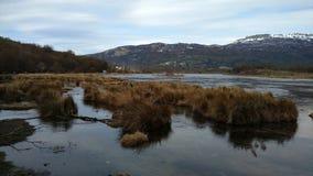 Ushuaia - Parque Nacional Στοκ Εικόνες