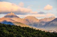 Ushuaia Patagonia, Argentina Arkivfoton