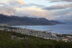 Ushuaia - Patagonia - Argentinien Stockbild
