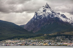 Ushuaia - Patagonia - Argentyna Obraz Royalty Free
