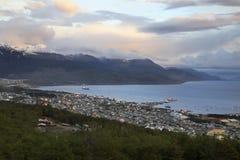 Ushuaia - Patagonia - l'Argentina Immagine Stock