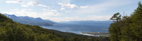 Ushuaia, Südamerika, Argentinien, Patagonia, Tierra del Fuego Lizenzfreie Stockfotografie