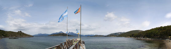 Ushuaia, South America, Argentina, Patagonia, Tierra del Fuego Royalty Free Stock Image