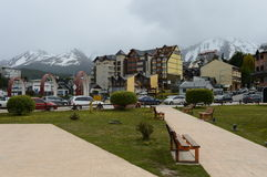 Ushuaia is the southernmost city in the world. Royalty Free Stock Photo