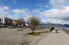 Ushuaia is the southernmost city in the world. Royalty Free Stock Photography