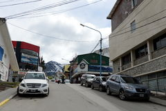 Ushuaia - the southernmost city in the world. Stock Photos