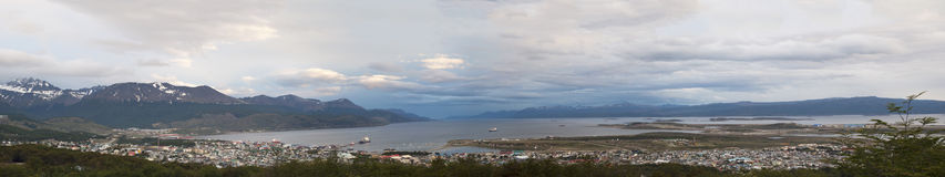 Ushuaia, Suramérica, la Argentina, Patagonia, Tierra del Fuego Imagenes de archivo