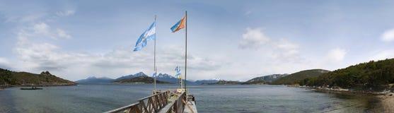 Ushuaia, Suramérica, la Argentina, Patagonia, Tierra del Fuego Imagen de archivo libre de regalías