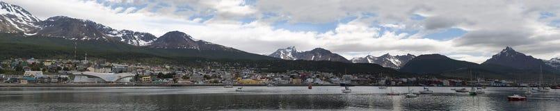 Ushuaia, Suramérica, la Argentina, Patagonia, Tierra del Fuego Foto de archivo