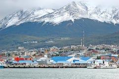 Ushuaia, Tierra del Fuego Stock Afbeeldingen