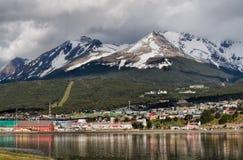 Ushuaia Tierra del Fuego, Argentina Arkivbild