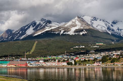 Ushuaia, Tierra del Fuego, Argentinië Stock Fotografie
