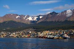 Ushuaia, Tierra del Fuego, Argentinien Stockbilder