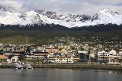 Ushuaia - Tierra del Fuego - la Argentina Imagenes de archivo