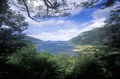Ushuaia, Tierra del Fuego National Park and Andes Mountains, Argentina Stock Images